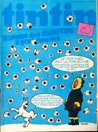 Tintin n°171 : Il tombe des Cubitus à gros flocons - Collectif - Livre