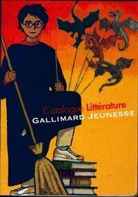 Catalogue littérature Gallimard jeunesse 2001 - XXX - Livre