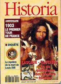 Historia n°559 : Lascaux-Tautavel - Collectif - Livre