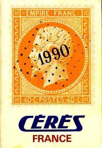 Catalogue de timbres-poste 1990 - Collectif - Livre