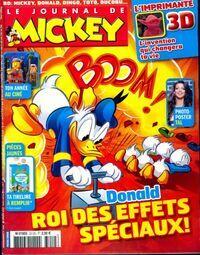 Le journal de Mickey n°3212 : Donald roi des effets spéciaux - Collectif - Livre