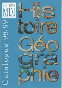 Histoire géographie catalogue 98-99 - Collectif - Livre