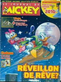 Le journal de Mickey n°3002 : Réveillon de rêve - Collectif - Livre