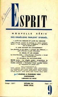 Esprit n°352 : Des Israéliens parlent d'Israël - Collectif - Livre