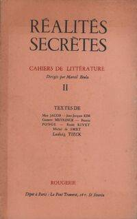 Réalités secrètes Tome II - Marcel Béalu - Livre