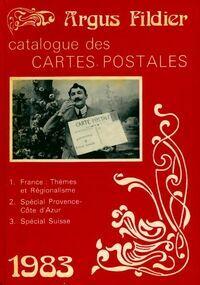 Argus fildier 1983. Catalogue des cartes postales - André Fildier - Livre