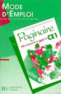 Paginaire CE1 mode d'emploi - Collectif - Livre