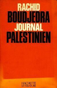 Journal palestinien - Rachid Boudjedra - Livre