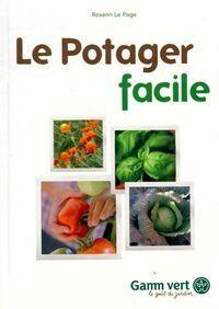 Le potager facile - Rosenn Le Page - Livre