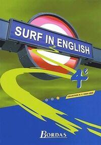 Surf in english 4e - Marie-France Chen-Géré - Livre