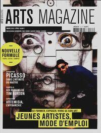 Arts magazine n°63 : Jeunes artistes, mode d'emploi - Collectif - Livre