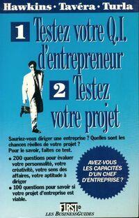 Testez votre QI d'entrepreneur, testez votre projet - Kathleen L Turla ; Hawkins - Livre