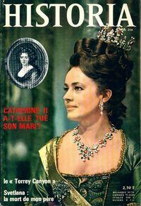 Historia n°256 : Catherine II a-t-elle tué son mari ? - Collectif - Livre