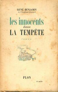 Les innocents dans la tempête - René Benjamin - Livre