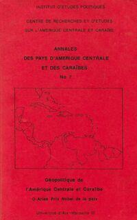 Annales des pays d'Amérique centrale et des Caraïbes - Collectif - Livre