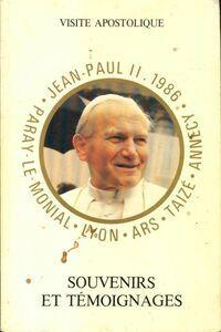 Souvenirs et témoignages - Jean-Paul II - Livre