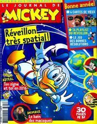 Le journal de Mickey n°3315 : Réveillon très spatial ! - Collectif - Livre