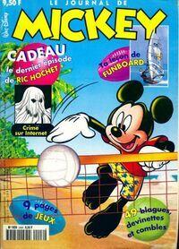 Le journal de Mickey n°2406 : Crime sur internet - Collectif - Livre