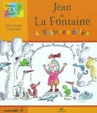 Jean de la fontaine. 4 fables en délire - Sylvie Girardet - Livre