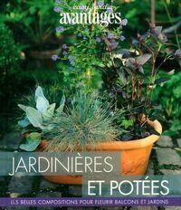 Jardinières et potées - Thierry Lamarre - Livre