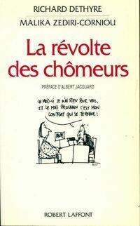 La révolte des chômeurs - Malika Zediri-Corniou - Livre