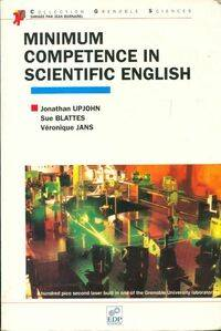 Minimum competence in scientific english - Collectif - Livre