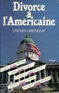 Divorce à l'américaine - Stephen Greenleaf - Livre