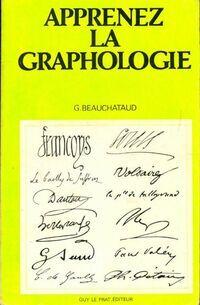 Apprenez la graphologie - G. Beauchataud - Livre