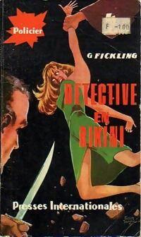 Détective en bikini - G.G. Fickling - Livre