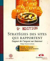 Stratégies des sites qui rapportent gagner de l'argent sur internet - Philippe Monteira Da Rocha - Livre