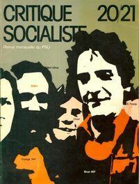Critique socialiste n°20/21 - Collectif - Livre