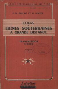 Cours de lignes souterraines à grande distance - Collectif - Livre
