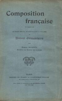 Composition française - Gabriel Maurel - Livre