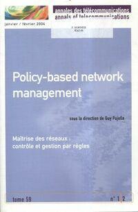 Annales des télécommunications Tome 59 n°1/2 : Maîtrise des réseaux - Collectif - Livre