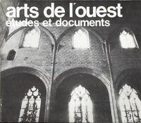 Arts de l'ouest études et documents 1980 n°1/2 - Collectif - Livre