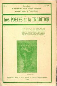 Les poètes et la tradition n°4 - Collectif - Livre