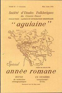 Société d'études folkloriques du Centre-Ouest Tome X : 3e livraison - Collectif - Livre
