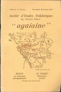 Société d'études folkloriques du Centre-Ouest Tome X : 6e livraison - Collectif - Livre