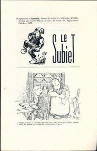 Le Subiet Tome XI : 5e livraison - Collectif - Livre