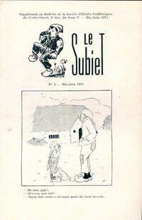 Le Subiet Tome V : 3e livraison - Collectif - Livre