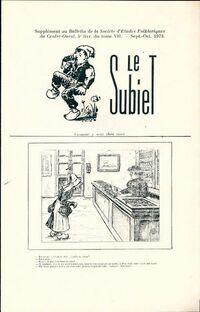 Le Subiet Tome VII : 5e livraison - Collectif - Livre