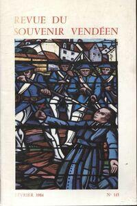 Revue du souvenir vendéen n°145 - Collectif - Livre