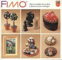 Fimo pâte à modeler de couleur à durcir au four ménager - Collectif - Livre