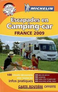 Escapades en camping-car France 2009 - Collectif - Livre