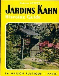 Jardins Kahn. Histoire guide - Robert Joffet - Livre