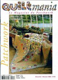 Quiltmania n°35 : Chintz anciens hollandais - Collectif - Livre