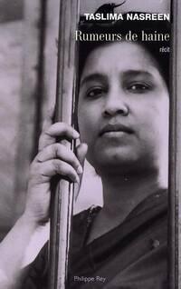 Rumeurs de haine - Taslima Nasreen - Livre