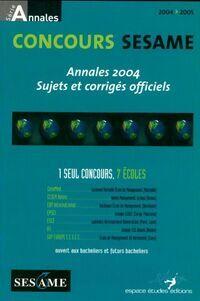 Concours sesame : Annales sujets et corrigés officiels - Marie-Laure Vignaud - Livre