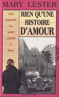 Rien qu'une histoire d'amour - Jean Failler - Livre