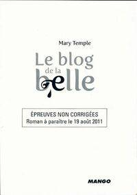 Le blog de la belle - Mary Temple - Livre